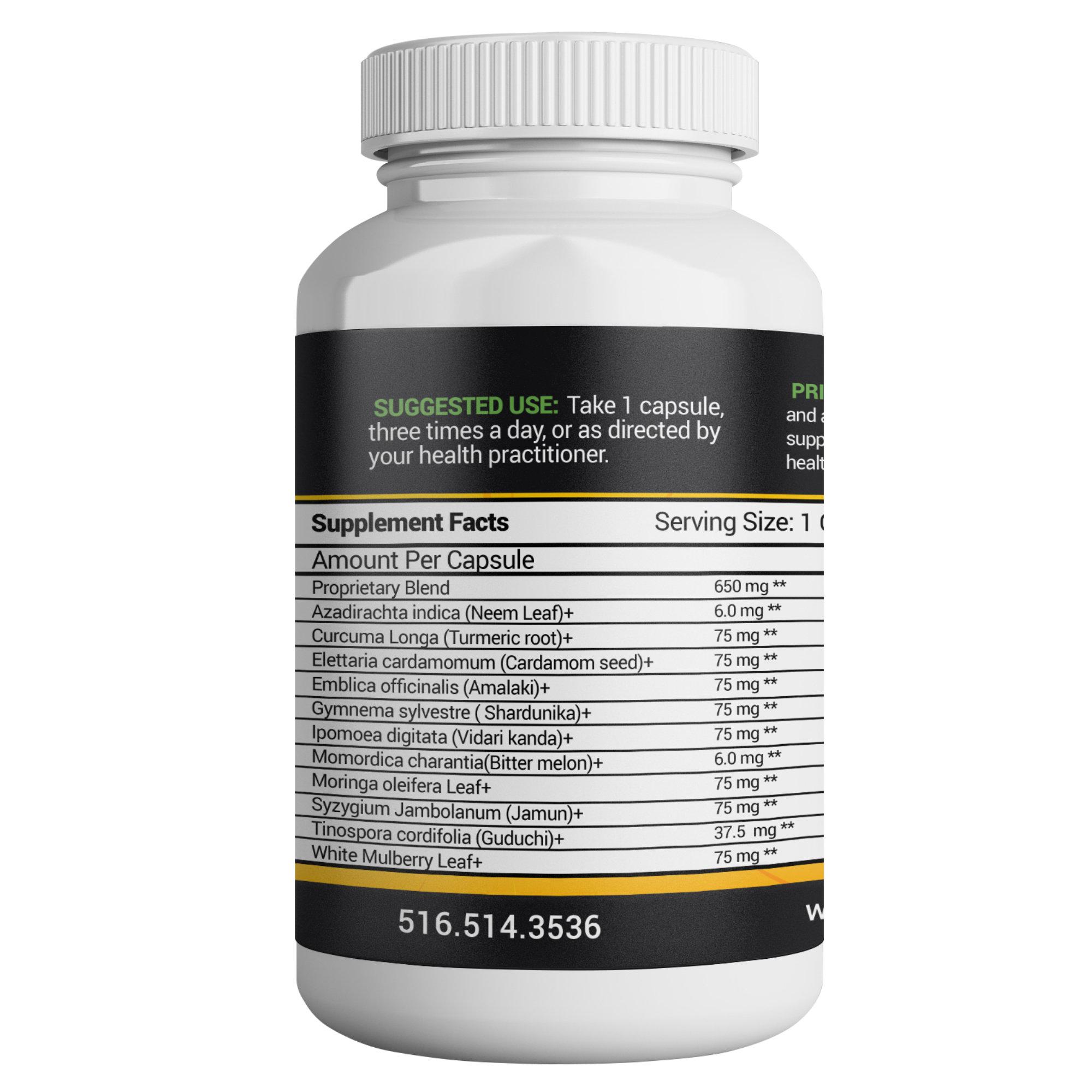 Prime Blood Sugar Support Supplement
